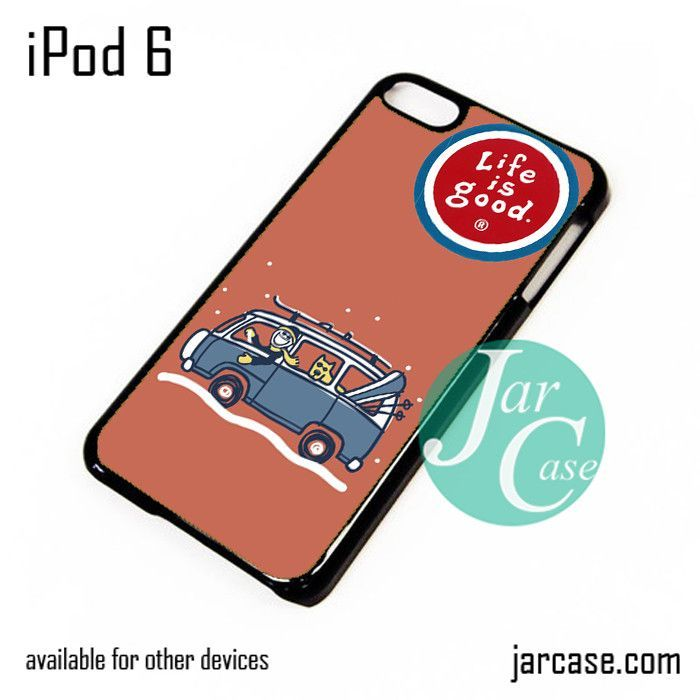 life is good mens crusher iPod Case For iPod 5 and iPod 6