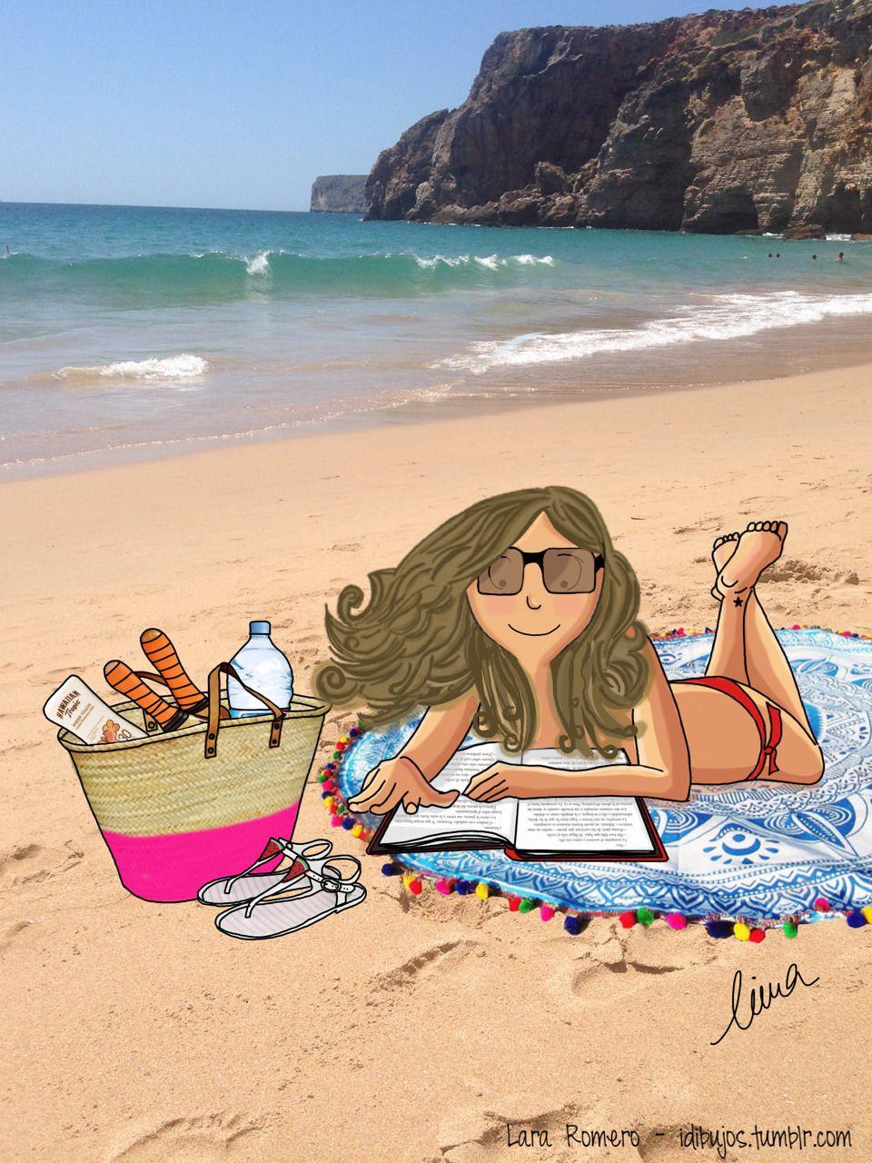 Rituales Del Verano Leer En La Playa Mirts Pinterest En La