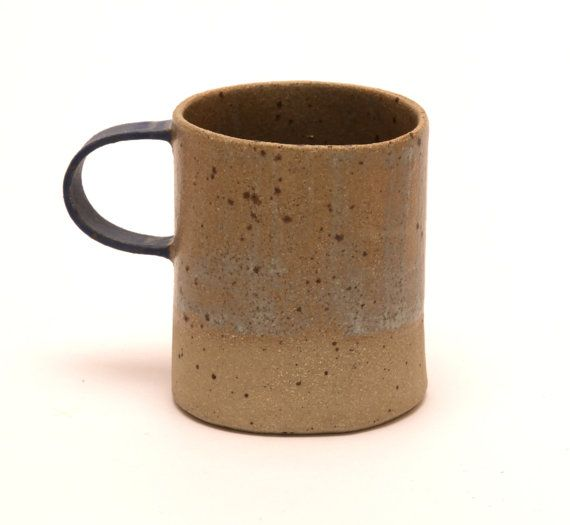 Speckled stoneware mug by LauraLauraBird on Etsy