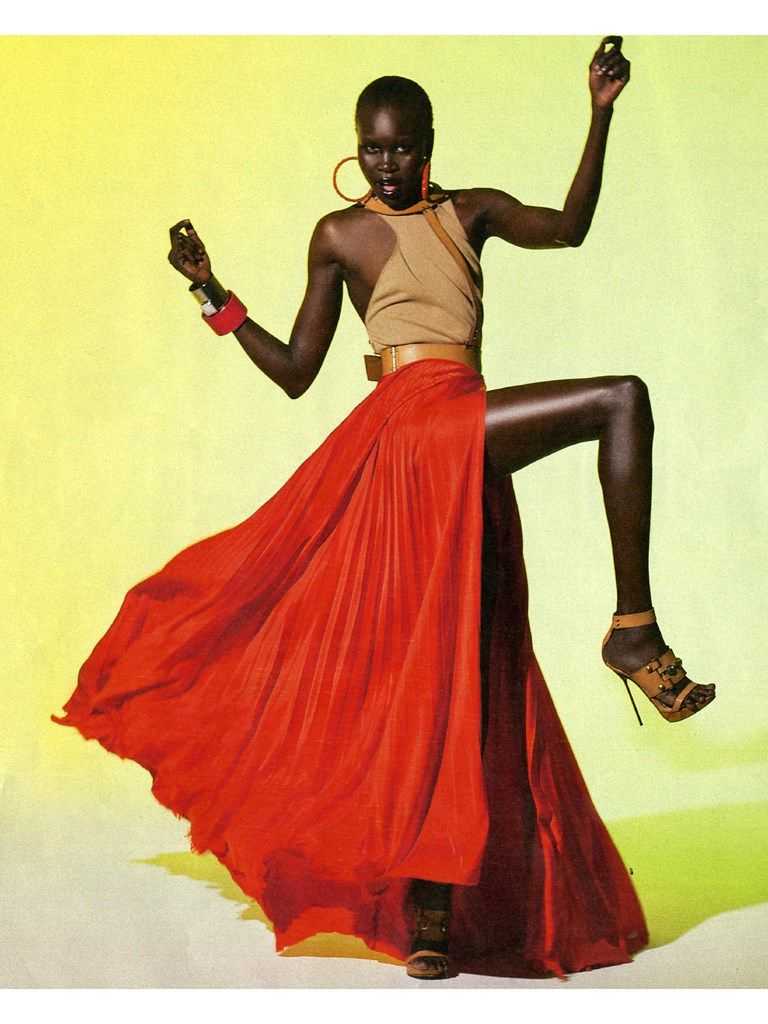 Alek Wek Storm Models African Models Model Female Models