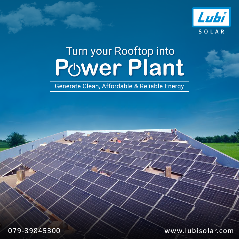 Turn Your Rooftop Into Power Plant Generate Clean Affordable Reliable Energy With Lubi Solar Contact 0796674530 Solar Solar Power Panels Power Plant