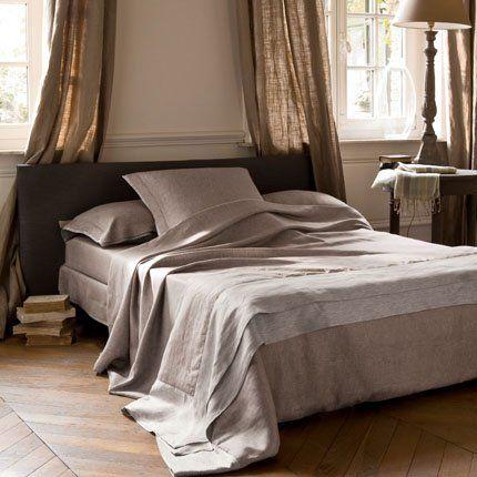 Parure de lit nomade descamps decoracao pinterest - Difference entre drap plat et housse de couette ...