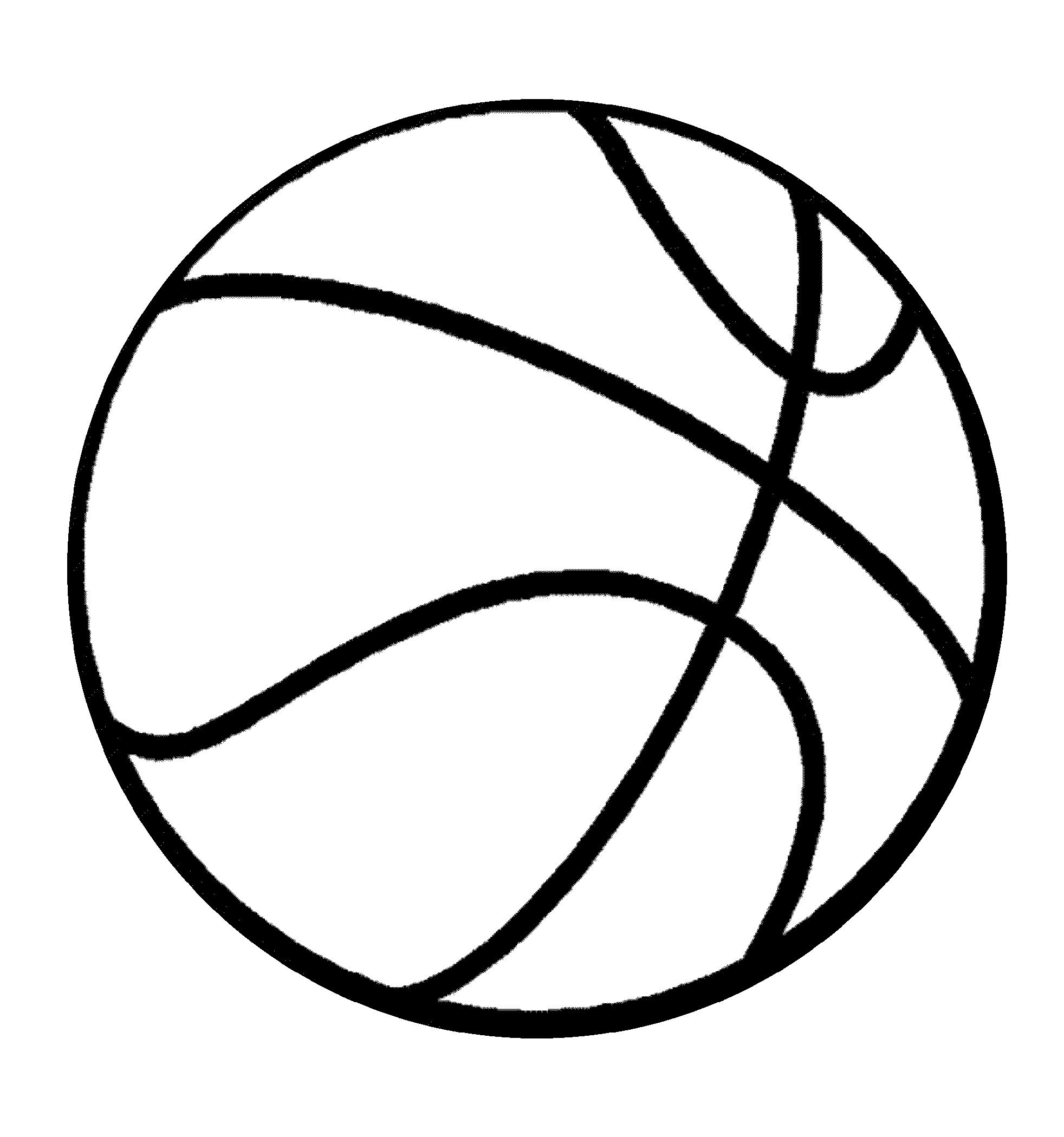 Free And Fun Basketball Color Pages For Kids