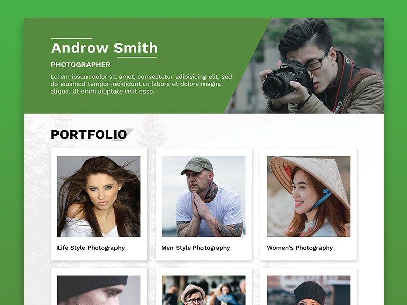 Photography Resume Template - http\/\/freebiesjedi\/2017\/12 - photography resume template