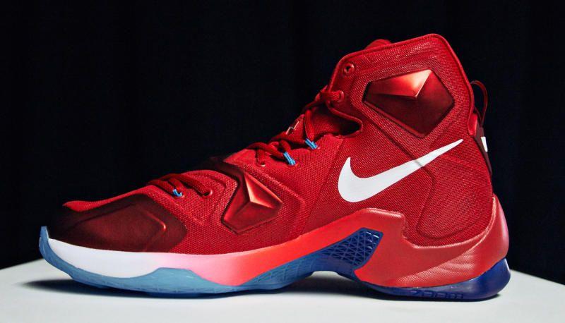 Nike LeBron 13 USA  b70cca4f527f