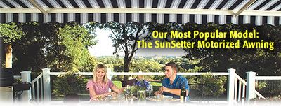 SunSetter Awning Prices - Retractable Deck and Patio ...