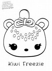 Image Result For Num Noms Only Coloring Pages Coloring Pages