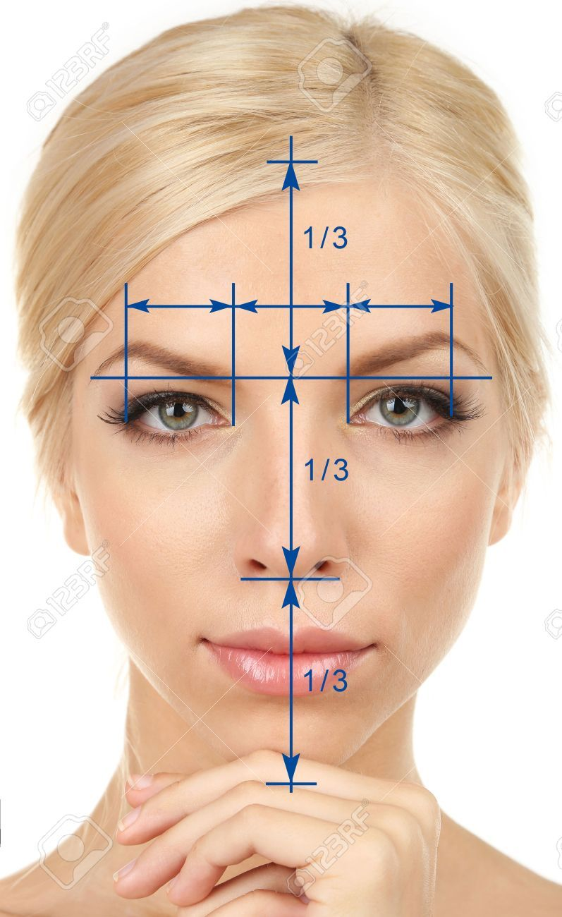 Stock Photo in 2020 Face proportions, Human body art