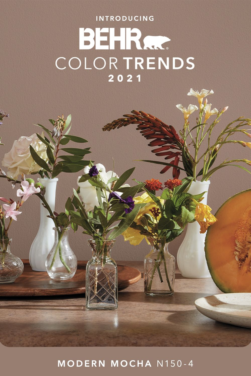 modern mocha n150 4 behr color trends 2021 palette in on paint color trends 2021 id=96840