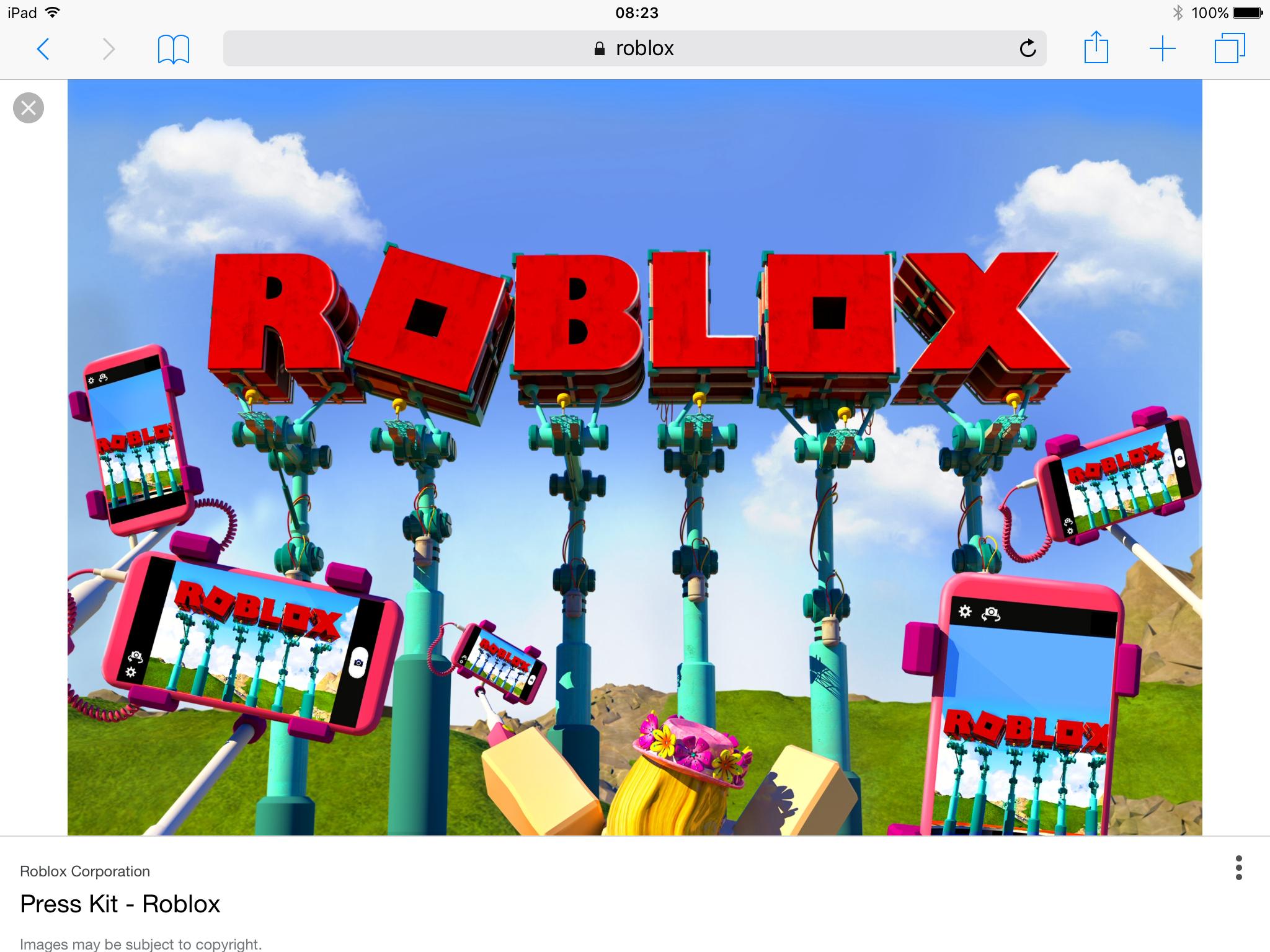 Ipad Wallpaper Roblox