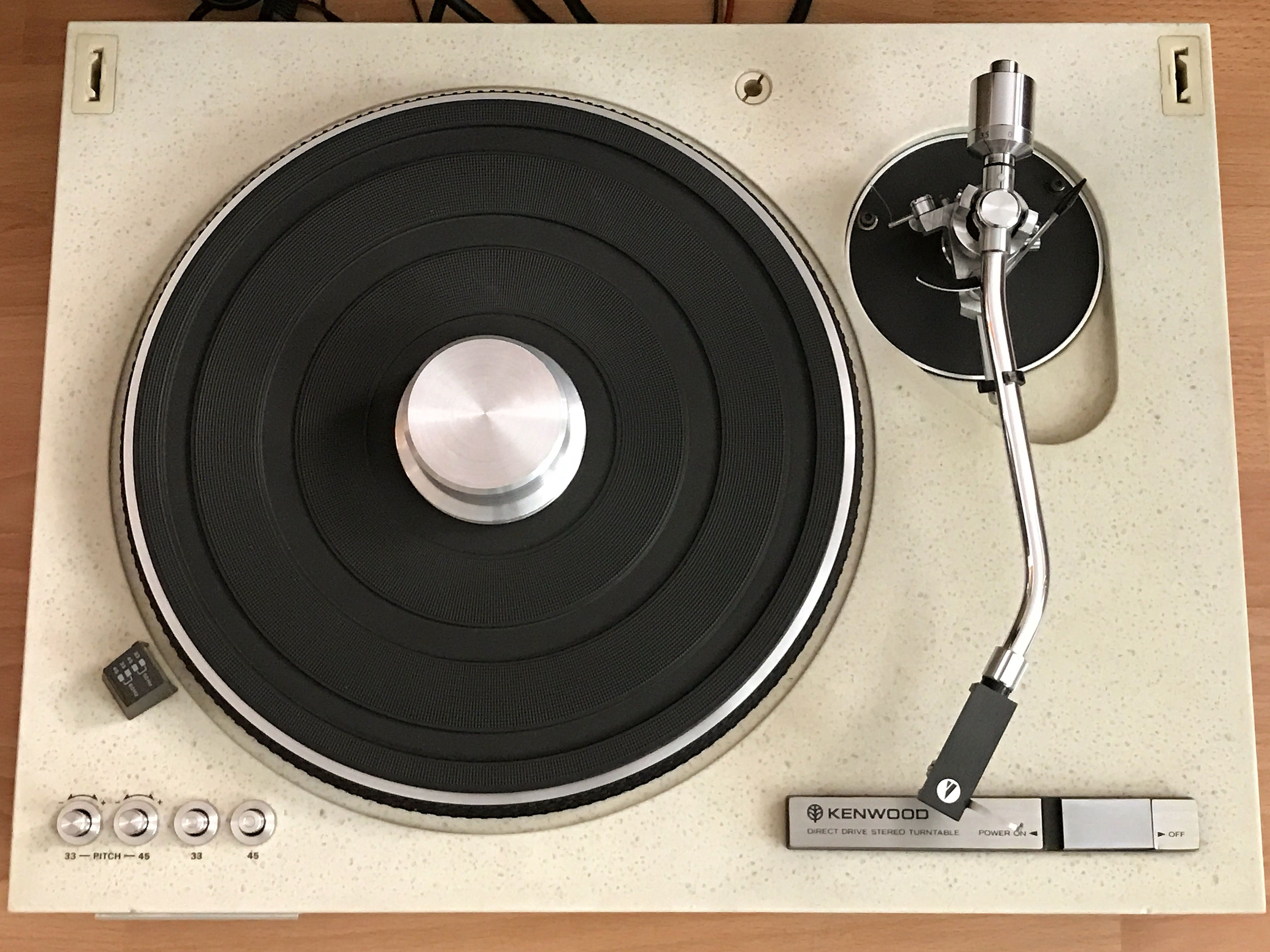 Record Player Kenwood Kd 550 Turntable