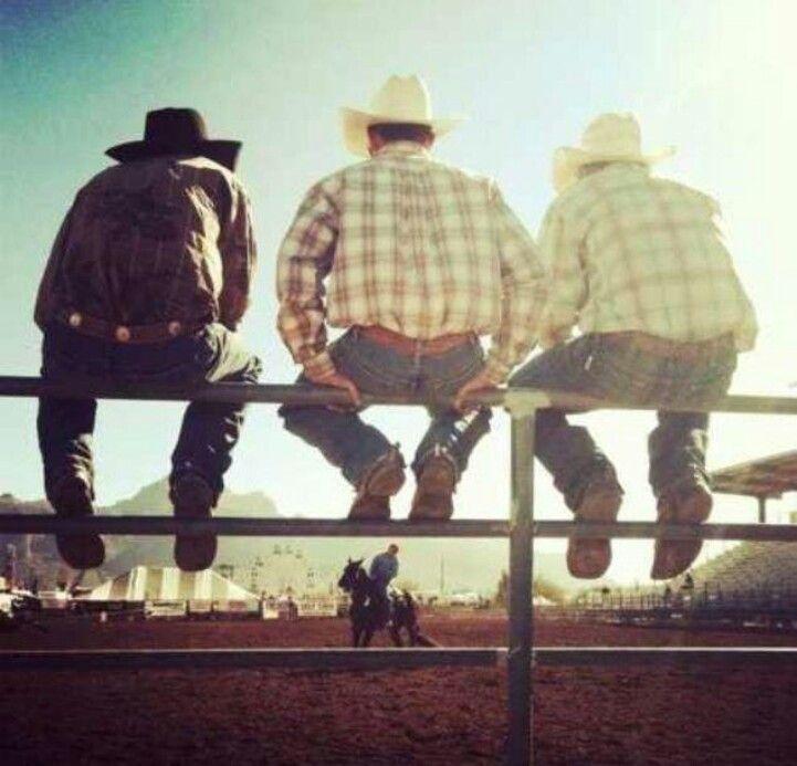 vaqueros en el rodeo