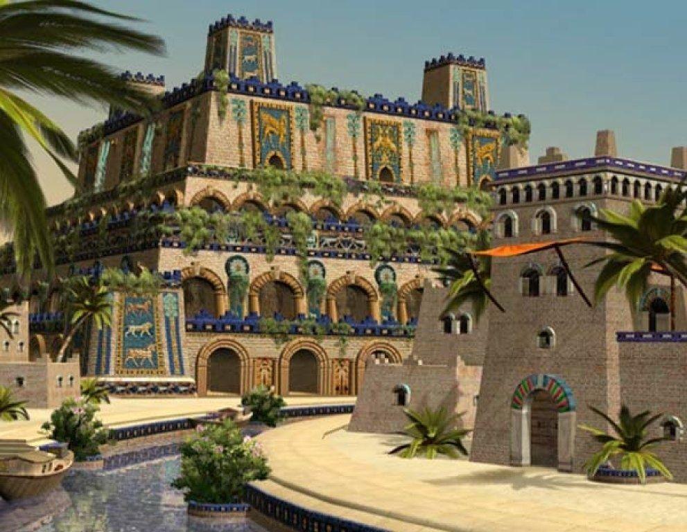 jardines colgantes de Babilonia. imagenes. - Yahoo Search Results