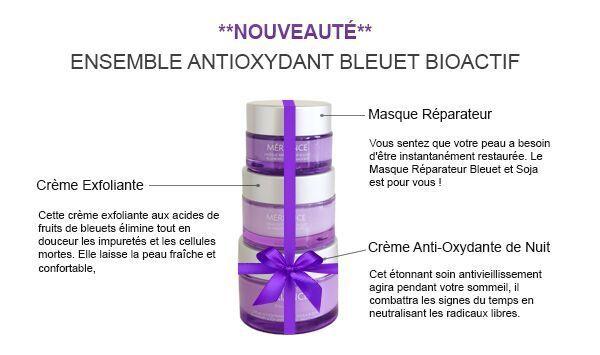 Les secrets du bleuet / Blueberry secrets www.meriance.com