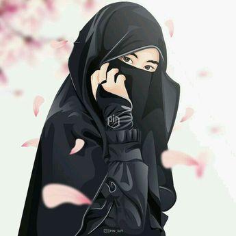 Gambar Wanita Muslimah Bercadar Cantik Dan Anggun di 2020