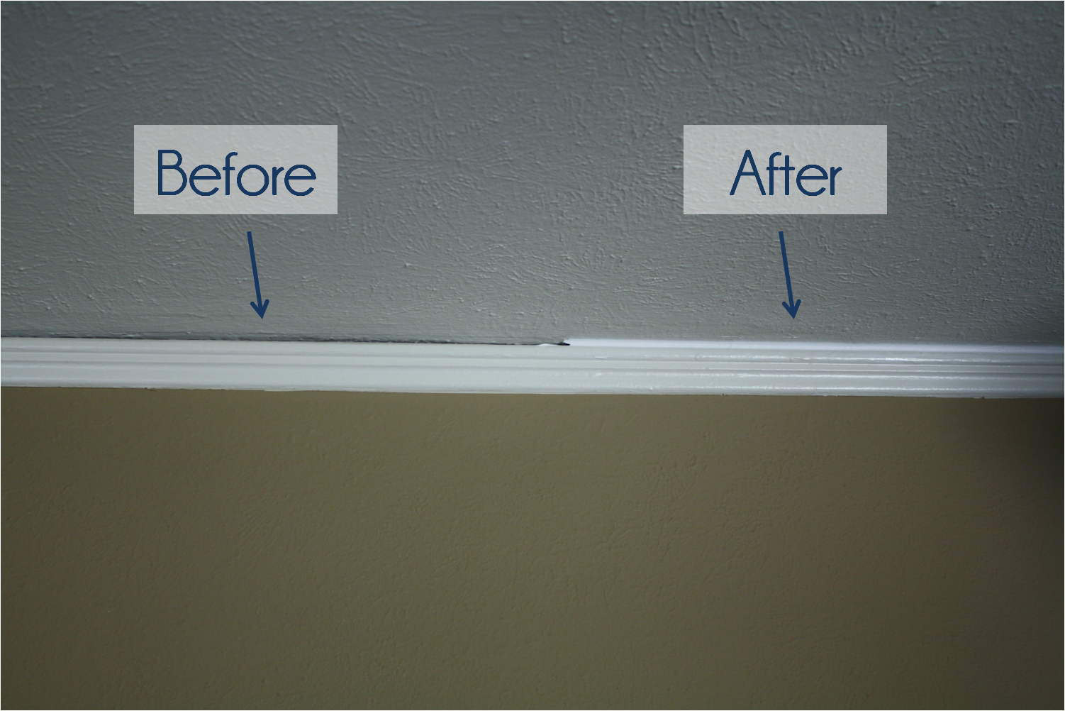 Crown Molding Caulk Ing Get It Done Ask The