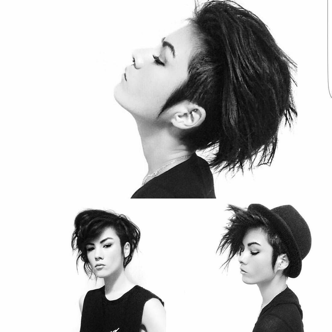 Pin by audrey johnstone on hair pinterest emoji haircuts and