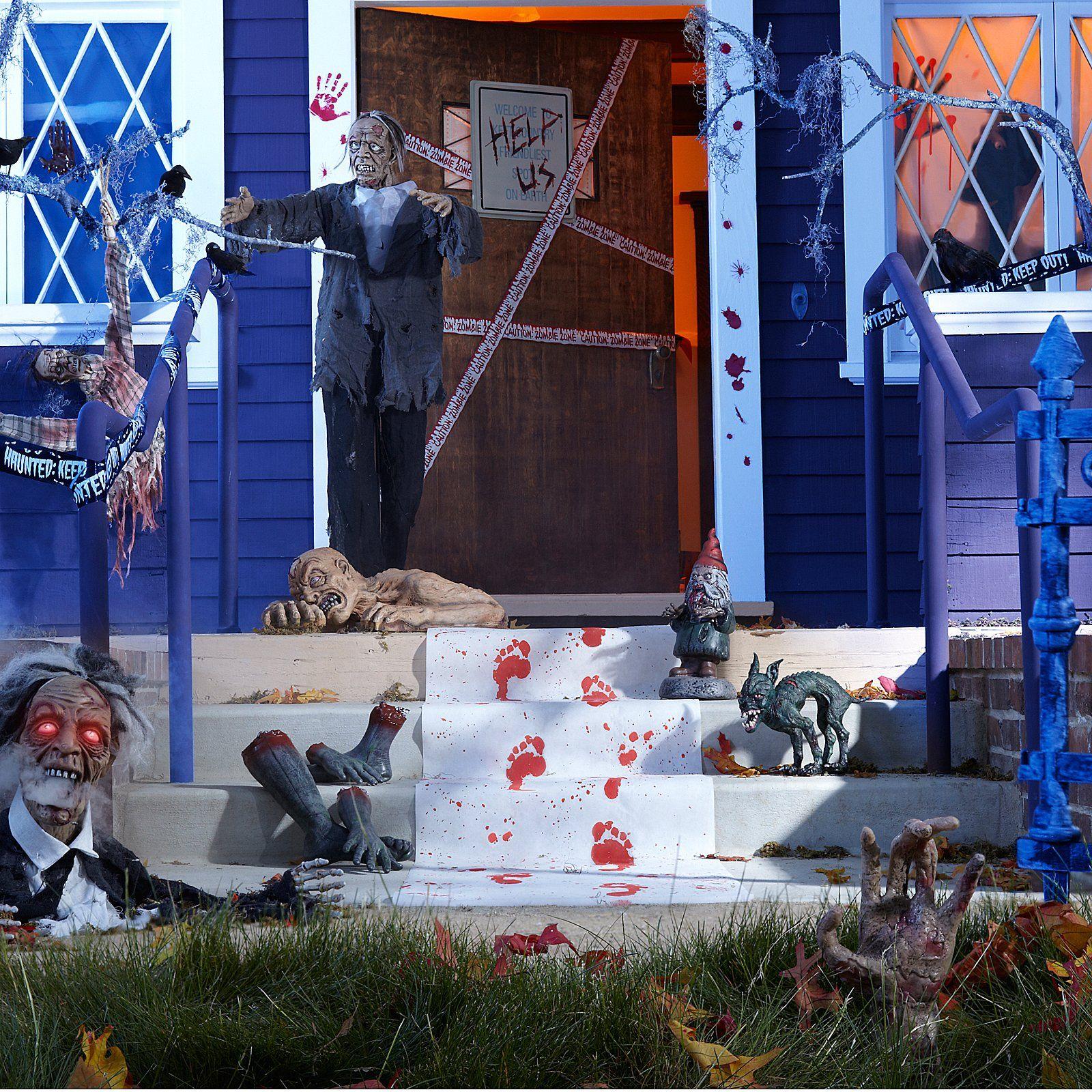 Zombie Apocalypse Halloween Decorating Tips 804817