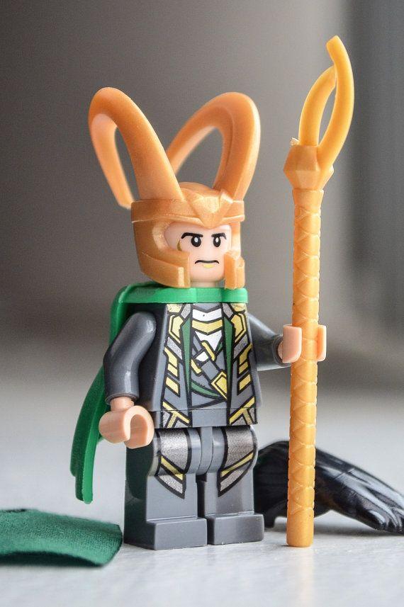 Loki Tom Hiddleston LEGO