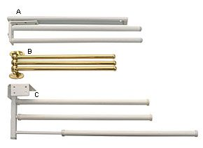Three-Bar Towel Rack (With images) | Cupboard doors ...