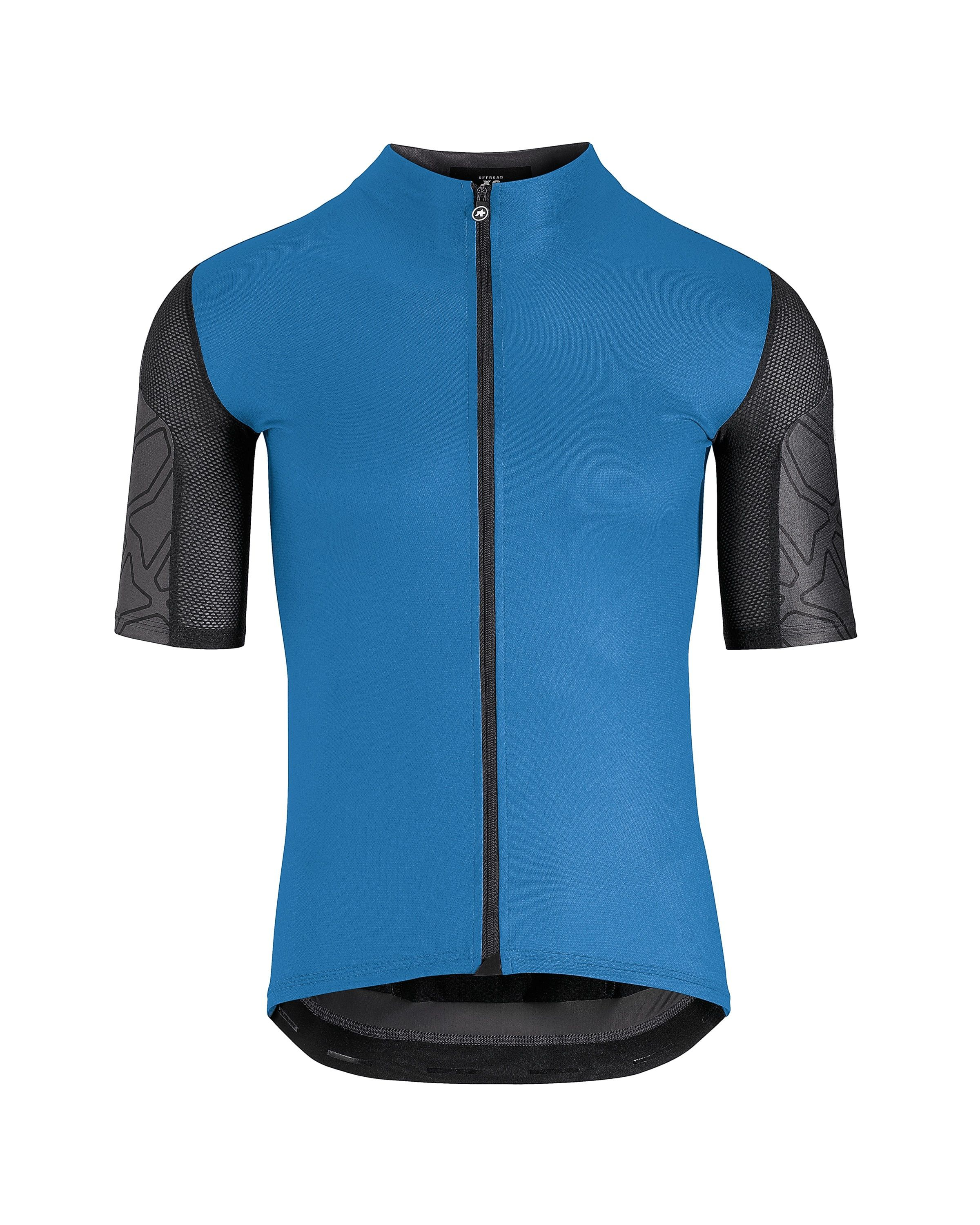 ASSOS XC SHORT SLEEVE JERSEY corfuBlue-Small - We understand that the  demands of riding 83ed9f789