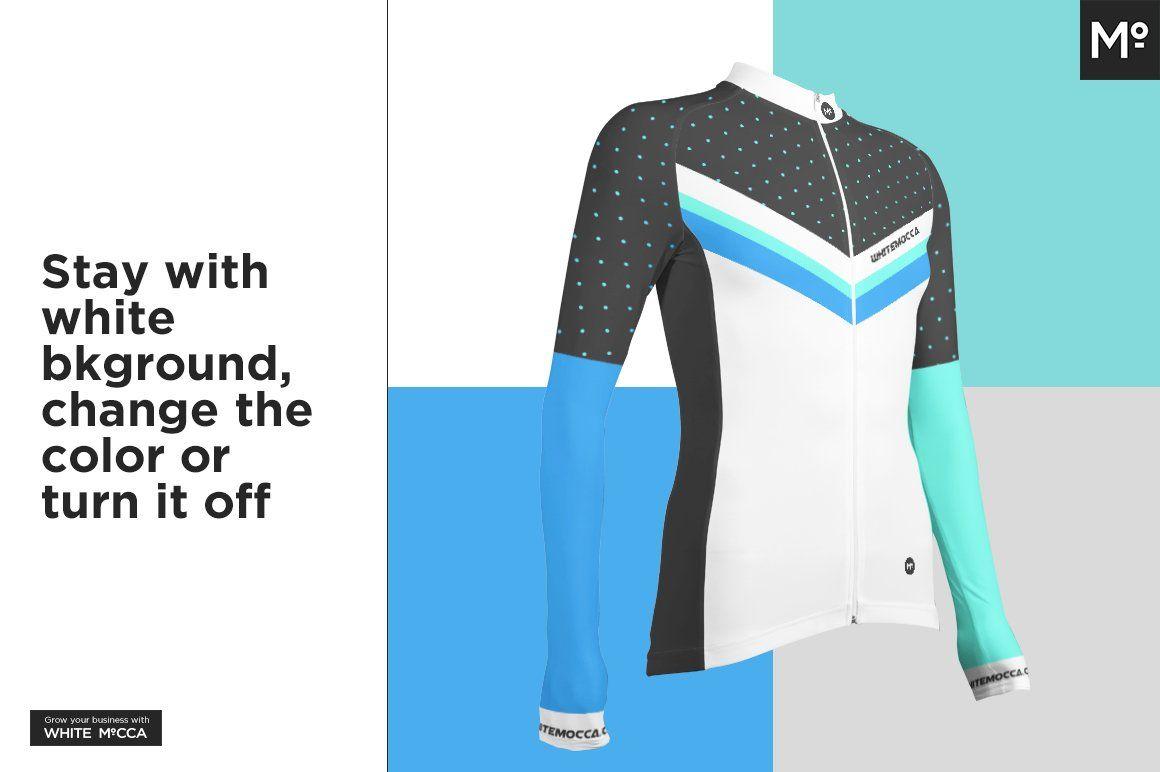 Download Long Cycling Jersey Mock Up Shirt Mockup Cycling Jersey Polo Shirt Women