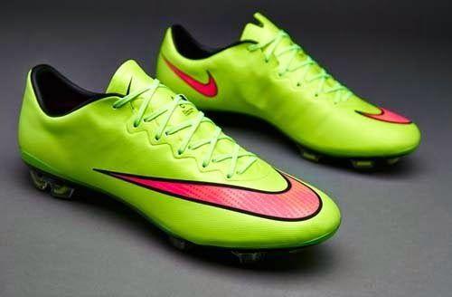 Hacia fuera Gruñido Plano  2014 Nike Mercurial Vapor X FG with Green Color   Nike soccer shoes, Soccer  boots, Soccer shoes
