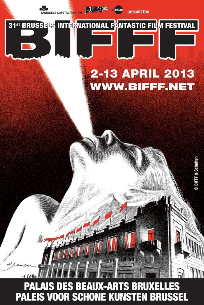 Festival International du Film Fantastique et de Science-Fiction de Bruxelles 2013 (by François Schuiten).    NEW: Now in Palais des Beaux-Arts de Bruxelles