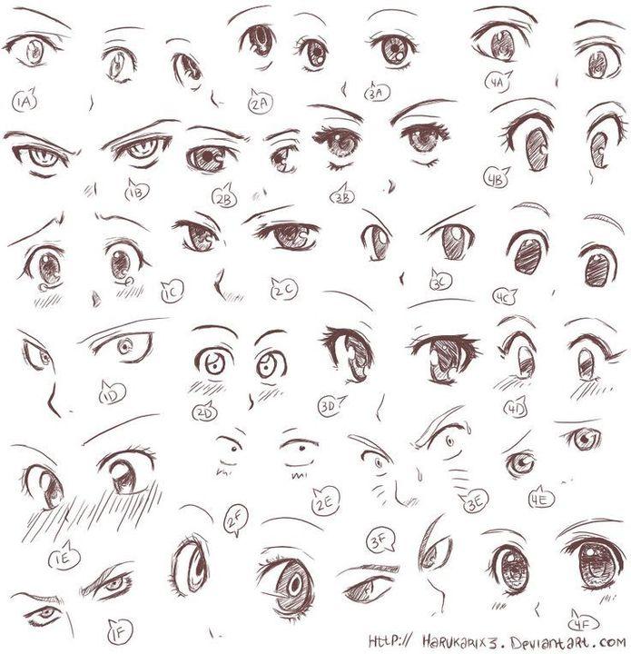Photo of Como dibujar anime – Ojos