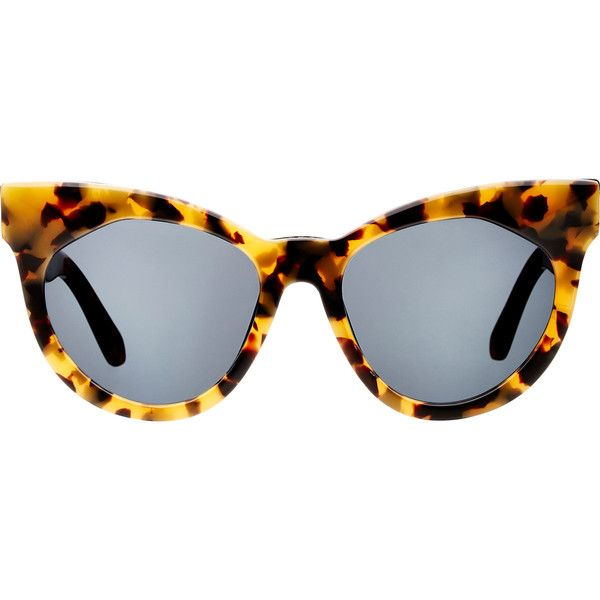 4ee76c0725c2 Karen Walker Starburst Sunglasses ( 300) ❤ liked on Polyvore featuring  accessories