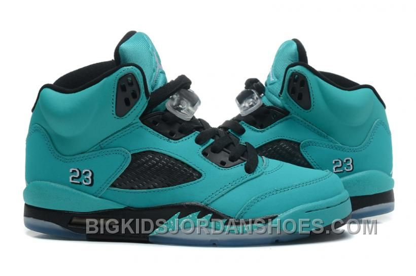 best service 011bb 1e1dc buy 440888 090 air jordan 5 sky blue black women men gs girls 2016 retro  57fcc