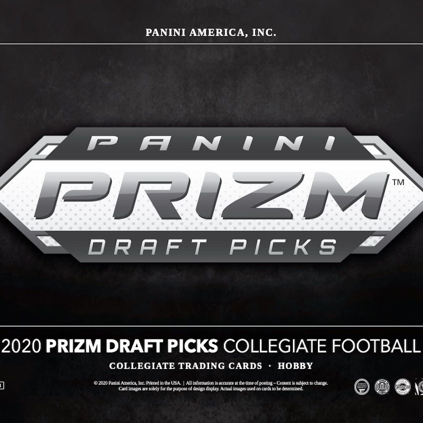 2020 Panini Prizm Draft Picks Football Checklist Set Info Date