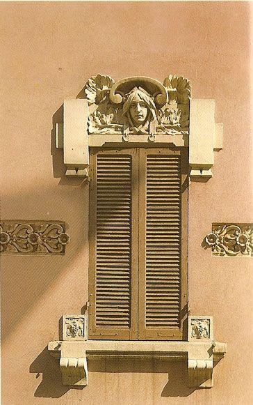 Liberty in italia arti applicate decorazioni design pinterest - Finestre liberty ...