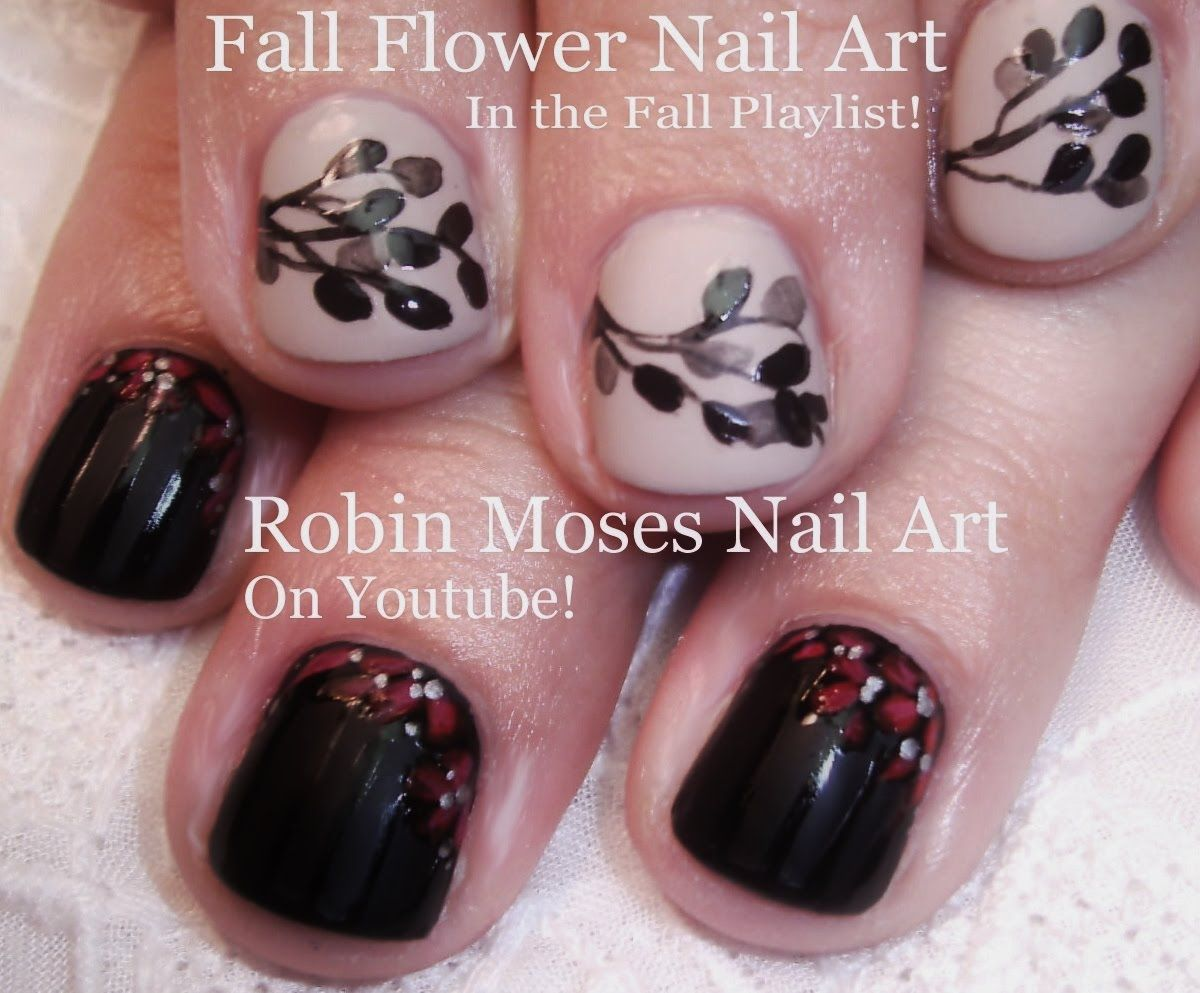 2 fall nail art tutorials diy autumn leaves short nail art for 2 fall nail art tutorials diy autumn leaves short nail art for begi solutioingenieria Images