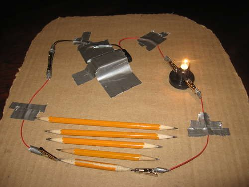 Turn Your Pencil Into A Dimmer Switch in addition Pencil Resistor Science Project likewise Science Expo Ideas as well Light Bulb Science Fair Projects additionally 109071622199324257. on pencil dimmer switch science fair project