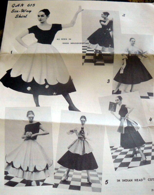 Good Housekeeping GHN 615 (mid 1950s) √ | Sewing | Pinterest | Falda