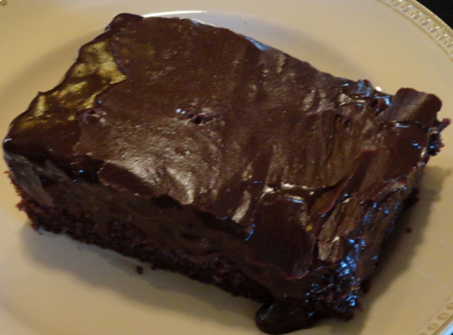 Mom's Chocolate Decadent Cake