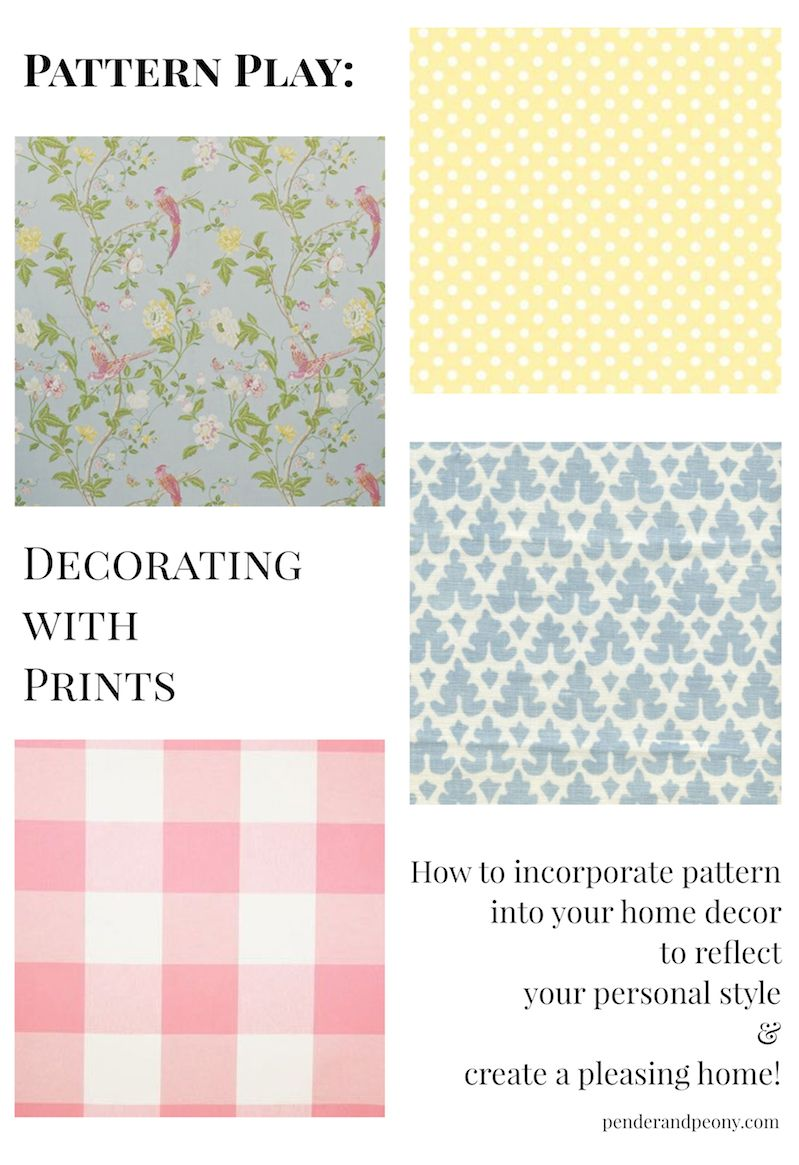 Pattern Play: Decorating with Prints | Pinterest