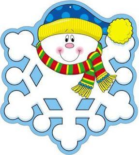 Cosillas De Infantil Copos De Nieve Dibujos De Invierno Copos De Nieve Manualidades Invierno