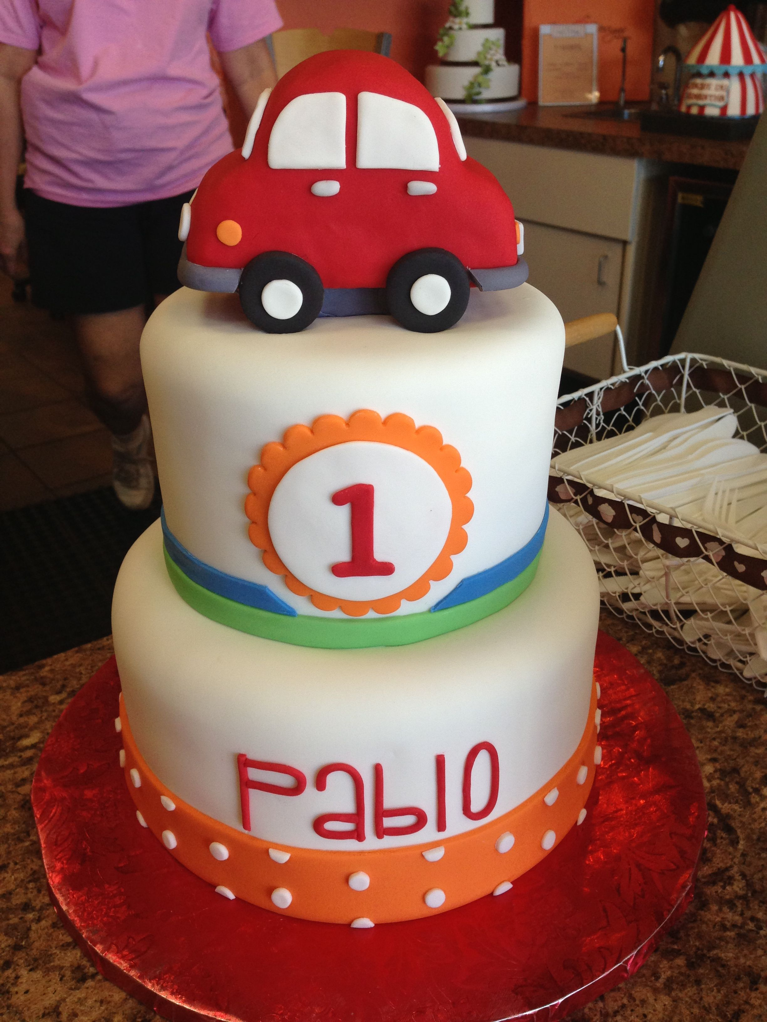 Baby Boy Car Cake Cakes Cake Birthday Cake Birthdays