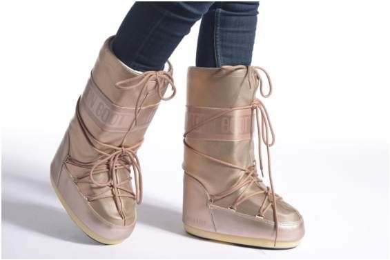 T36 Moon Boots Pixie RoseGold   Chaussure sport