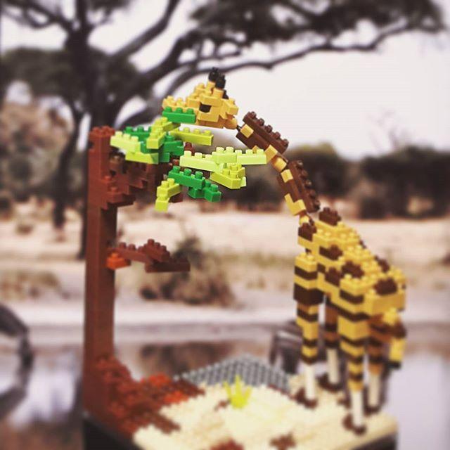 기린  #kawada #nanoblock #giraffe