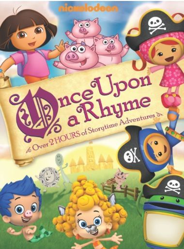 Dvd Review Nickelodeon Favorites Once Upon A Rhyme