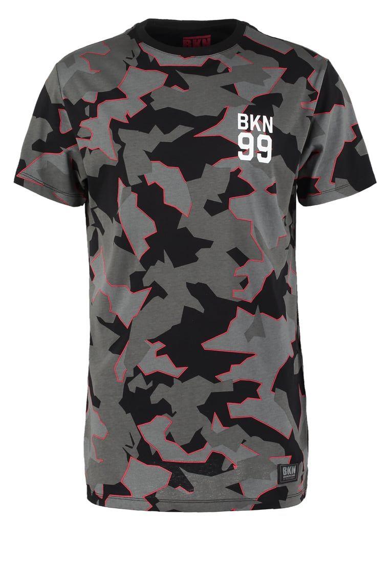Brooklyns Own By Rocawear Print T Shirt Black Zalando