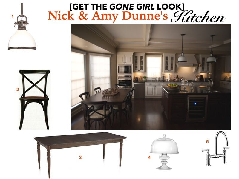 Gone Girl Movie Set: Get The Interior Design/home Decor Look Of Nick (