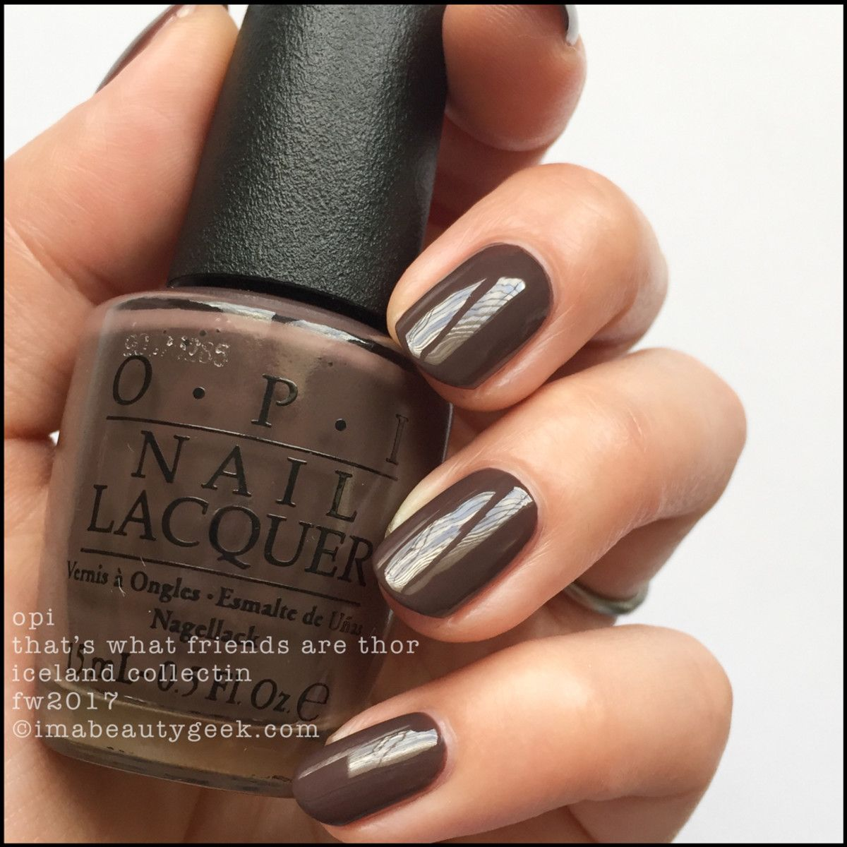 Opi Iceland Collection Swatches Amp Review Fw 2017 Nails