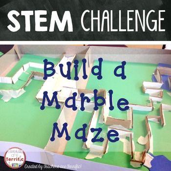 Stem Challenge Marble Maze Stem Challenges Marble Maze Stem Lesson Plans