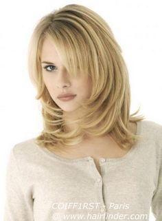 Frisur Halblange Haare Gestuft