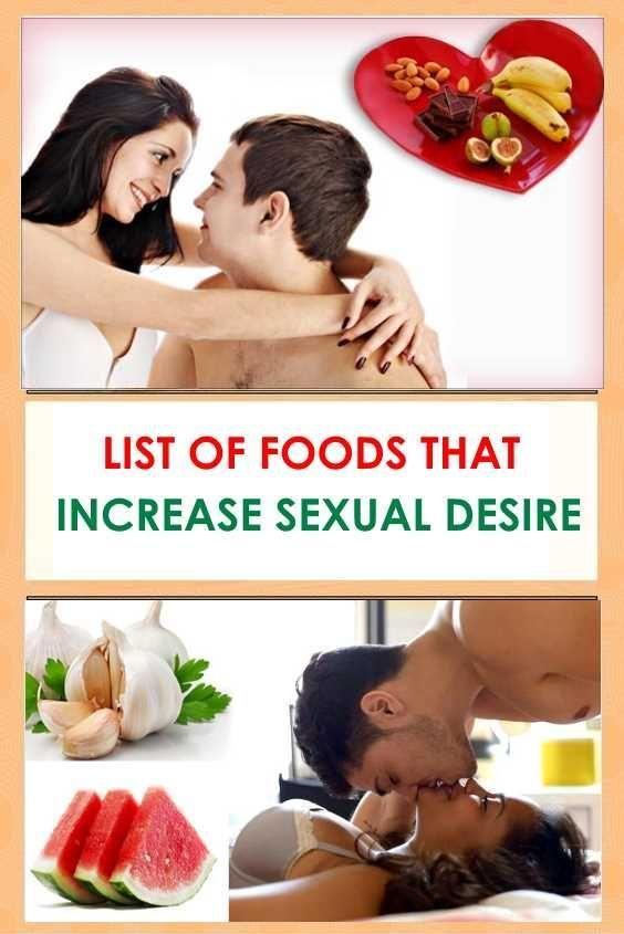 food Sex desire items indian increasing