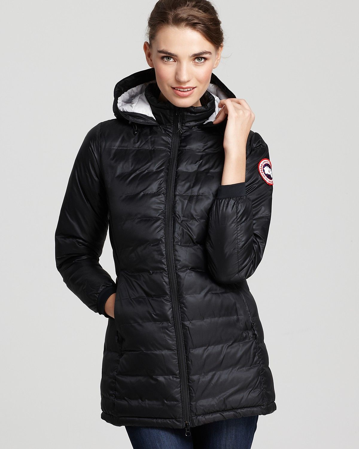 d7e8ac47ea1a Canada Goose Lightweight Camp Hooded Jacket - Contemporary - Bloomingdale s   495